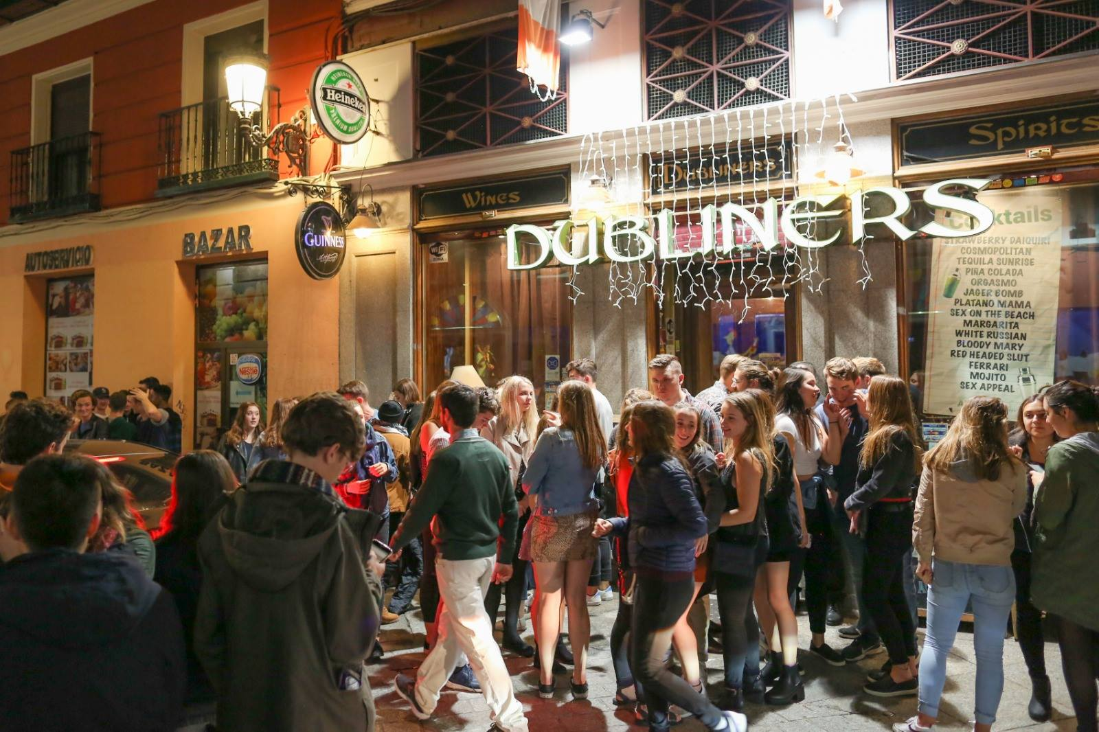 Dubliners Madrid