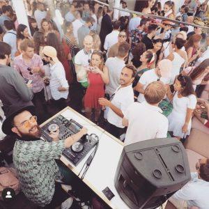 Sunyday Rooftop Bar Pub Crawl Madrid