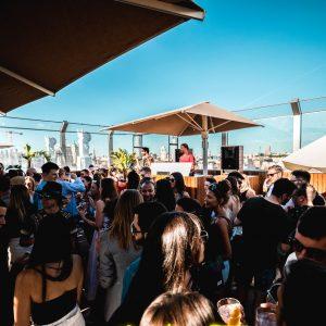 Tour dei pub sul tetto del venerdì a Madrid
