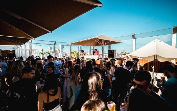 Friday Rooftop Bar Pub Crawl Madrid