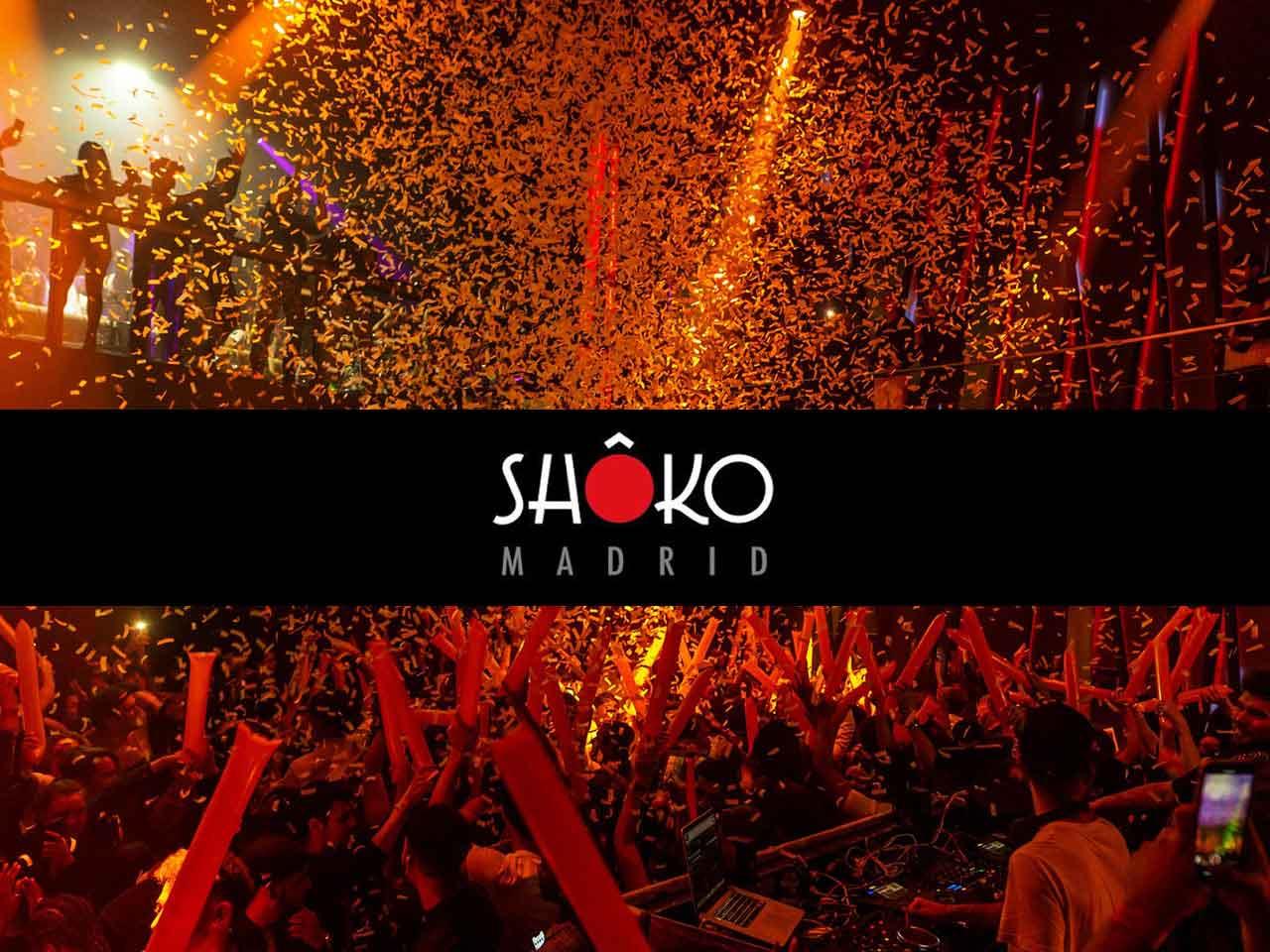 Shoko in Madrid Club